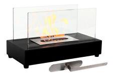 Tabletop Bio Ethanol Fireplace Heater Portable Indoor Outdoor Patio Living Room