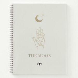 The Moon Tarot Spiral Notebook