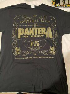 PANTERA - 101 Proof T-Shirt Genuine Merchandise Aust Stock