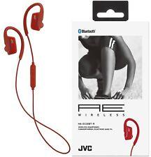 JVC haec30bt rouge Ae Bluetooth sans fil Sport Clip d'oreille casque ORIGINAL /