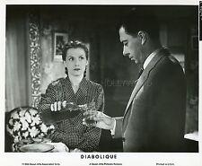 VERA CLOUZOT  PAUL MEURISSE LES DIABOLIQUES 1955 VINTAGE PHOTO R70