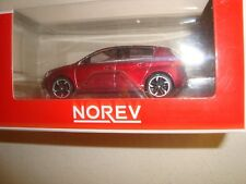 1/54 3-INCHES  PEUGEOT 308 ROUGE -NOREV JAUNE