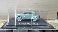 "DIE CAST "" RENAULT 4CV - 1954 "" SCALA 1/43 RBA AUTO INDIMENTICABILI"