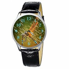 Dragonfly Stainless Wristwatch Wrist Watch