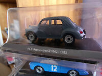 RENAULT 4 CV BERLINE GRAND LUXE TYPE R1060 -1950  neuf en blister 1/43