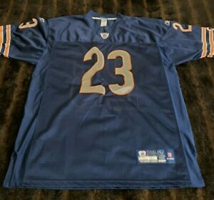 Reebok on Field NFL Equipment Chicago Bears Blue Mens 50 Short Sleeve Jersey