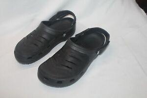 Crocs Mens Yukon Vista Size M10 Grayish Black
