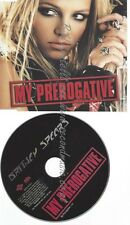 PROMO CD--BRITNEY SPEARS --MY PREOGATIVE --1TR