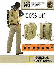 National Geographic NG5162 Earth Explorer DSLR Camera Bag Case Carry Backpack UK