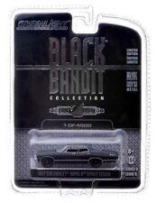 BLACK 1967 CHEVROLET IMPALA GREENLIGHT 1:64 SCALE DIECAST METAL MODEL CAR