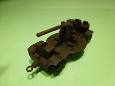 DINKY TOYS 161B ANTI AIRCRAFT GUN ON TRAILER - ARMY MILITARY - NICE CONDITION