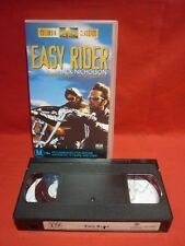EASY RIDER with JACK NICHOLSON DENNIS HOPPER VHS VIDEO VGC CLASSIC MOVIE