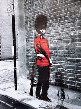 Banksy Poster Queens Guard und ein Ü-Poster geschenkt!
