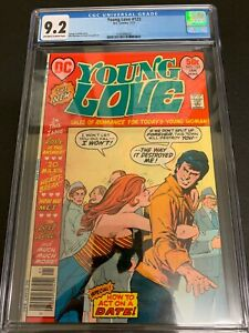 YOUNG LOVE #123 * CGC 9.2 * (DC, 1977)  HTF IN HIGH GRADE!!  MUST-SEE!!