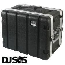 Pulse - ABS-6US Rack Flightcase - 6U SHALLOW DJ Gear Case Carry Carrying Flight