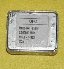 OCXO 5MHz MC884X4-013W DOUBLE OVEN QUARTZ OSCILLATOR +12V squarewave EFC