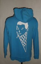 Men's BBC Ice Cream Billionaire Boys Club Blue Full Zip Hoodie Sweatshirt XL