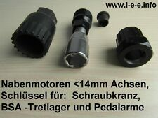 Werkzeugset für Umrüstungen Pedelec, E-Bike, Elektrofahrrad, Elektromobile
