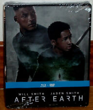 After Earth Combo Blu-Ray+DVD Steelbook Sealed New Action (Sleeveless Open) R2