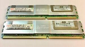 Hynix RAM 8GB  (2 X 4GB)  PC2-5300 DDR2-667MHz ECC Memory