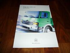 MERCEDES Benz Atego 4x2 1228 l/54 PROSPEKT 07/2002 Australia