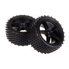 06026 1/10 Off Road Buggy Rear Wheel Rim & Tyre,Tires Fit HSP HPI Redcat Spare