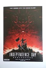 Independence Day Resurgence IMAX Poster Double-Sided ‎Roland Emmerich A3
