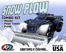"Polaris 550 Sportsman Touring & X2 - 2010-2014 KFI ATV 54"" Snow Plow Combo Kit"