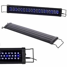 "LED 30"" - 42""108x LEDs Aquarium Fish Tank Light HIGH LUMEN White Blue Extendable"