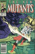 Marvel The New Mutants 52 June 1987 Grounded Forever Claremont