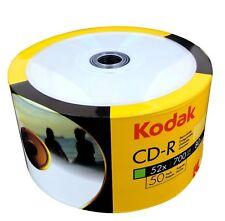 50 CD-R STAMPABILI KODAK PRINTABLE 700MB CONFEZIONE 50 PZ K1230150