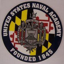 Window Bumper Sticker Military Navy Naval Academy NEW Decal