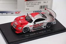 EBBRO SUPER GT 500 2006 ZENT CERUMO #1 REF 806  1/43