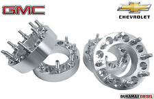 """4 PC 8X180 TO 8X210 SPACERS SINGLE REAR WHEEL TO DUALLY WHEELS 2"""" THICK ADAPTERS"""