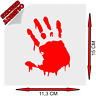 Sticker Adesivo Decal Zombi Zombie Horror goth Blood Tuning Auto Moto