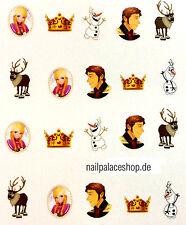 Nail Art Nageldesign Water Transfer Nagel Sticker Aufkleber Prinzessin B1979