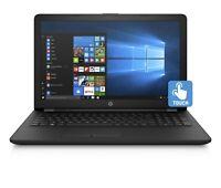 "2019 HP 15.6"" HD Touchscreen Laptop Intel 4-Core upto 2.7GHz 4GB RAM 1TB HDD Cam"