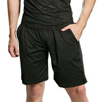 Mens Gym Shorts With Pockets Athletic Workout Fitness Sports Basketball Pants