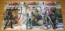 Paolo Parente's Dust Wars #1-3 VF/NM complete series - image comics set lot