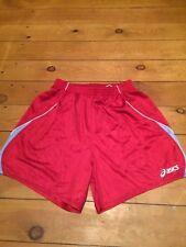 girl's vintage 90's asics shiny sports shorts size large