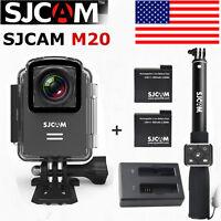 SJCAM M20 Mini Action Camera Helmet Sports 2160p 16MP Gyro 30M Waterproof DV Cam
