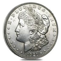 1921 Silver Morgan Dollar AU