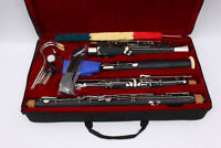 New Yinfente Bassoon C tone great Ebonite + Fine quality Free Pull rod case #B03