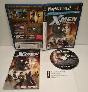 X-MEN Legend 2 - Jeu PS2 - Pal Français - Complet - Très bon état