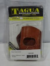Tagua YSH-062 Ruger LC9 Yaqui Slide Holster, Brown, Right Hand T1