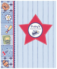 New Seasons Baby Boy Memory Keepsake Book First 5 yrs – All Star 5727902