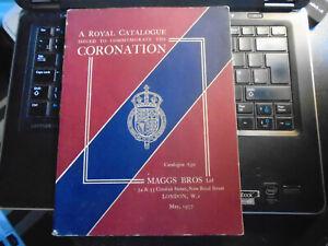A Royal Catalogue, Coronation King George VI, May 1937, Maggs Bros Ltd. Rare