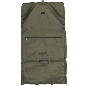 Briggs Riley Travelware Hanging Garment Bag Lightweight Olive Green GUC