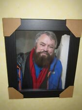 Brian Blessed Signed Photo (8x10) In A Lovely Black Frame