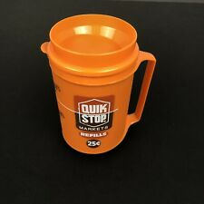 Rare VTG Aladdin Quick Stop Markets Insulated Travel Drink Mug Cup Collectible